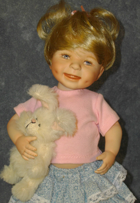 Dimples Finished Doll