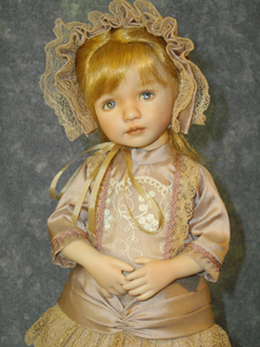 Wednesday's Child Finished Doll