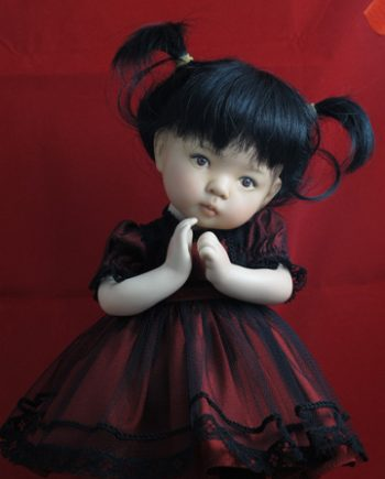 Blossom Finished Doll