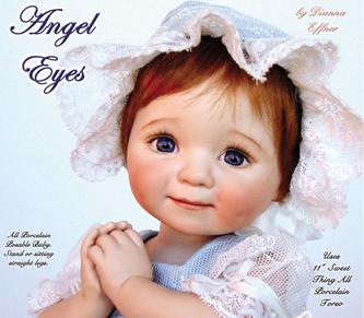 Angel Eyes Greenware