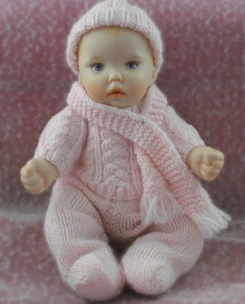 Baby knitted pattern winter