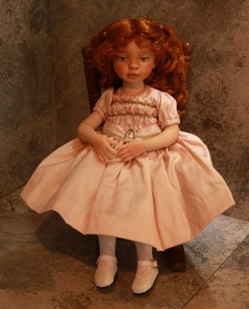 Bookworm finished doll